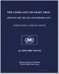 The Complaint or Night Thoughts on Life,... by Young, Edward