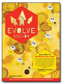 Evolve Game Developers Conference by Yu, Alan