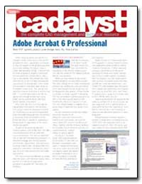 Adobe Acrobat 6 Professional by Lafon, Ron