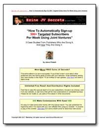 How to Automatically Sign-Up 300+ Target... by Potash, Jason