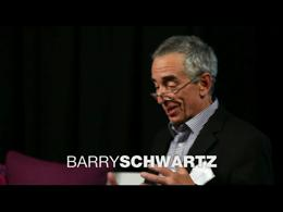TEDtalks in the Field : Barry Schwartz: ... by Barry Schwartz