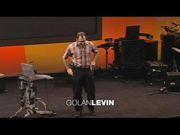 TEDtalks Conference 2004 : Golan Levin o... by Golan Levin