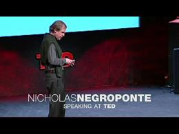 TEDtalks in the Field : Negroponte takes... by Nicholas Negroponte