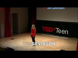 TEDx Projects Teen : Tavi Gevinson: A te... by Tavi Gevinson
