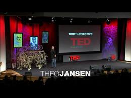 TEDtalks Conference 2007 : Theo Jansen: ... by Theo Jansen