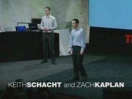 TEDtalks Conference 2005 : Zach Kaplan a... by Zach Kaplan and Keith Schacht