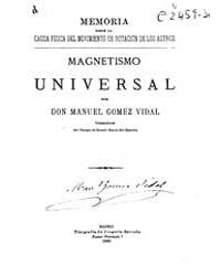 Biblioteca Hispanica : Memoir on the Phy... by Gomez Vidal, Manuel