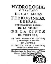 Biblioteca Digital Hispanica : Hydrology... by Vinayma, Vicente
