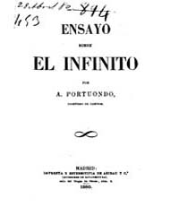 Biblioteca Hispanica : Essay on the Infi... by Portuondo and Barcelo, Antonio