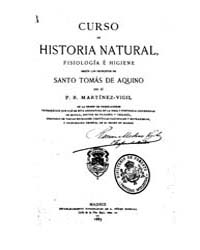 Biblioteca Hispanica : Course of Natural... by Vigil Martinez, Ramon