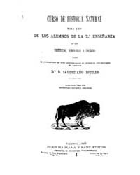 Biblioteca Hispanica : Course of Natural... by Sotillo, Salustiano