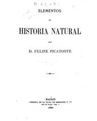 Biblioteca Hispanica : Elements of Natur... by Picatoste, Philip