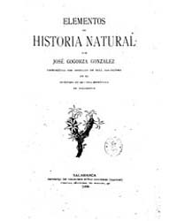 Biblioteca Hispanica : Elements of Natur... by Ribera Gomez, Emilio