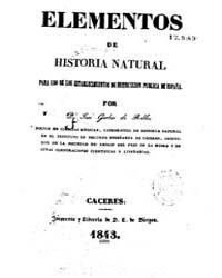 Biblioteca Hispanica : Elements of Natur... by Gerber Robles, Jose
