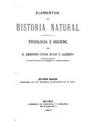 Biblioteca Digital Hispanica : Sciences ... by Rubio and Alberto, Demetrio Fidel