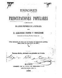 Biblioteca Hispanica : Errors and Popula... by Pontes and Fernandez, Alejandro