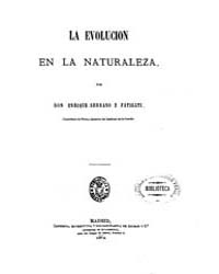 Biblioteca Hispanica : Evolution in Natu... by Fatigati Serrano, Enrique