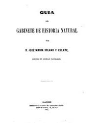 Biblioteca Hispanica : Guide Cabinet of ... by Solano and Eulate, Jose Maria