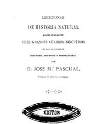 Biblioteca Hispanica : Lessons of Natura... by Pascual, Jose Maria