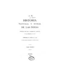 Biblioteca Hispanica : Natural and Moral... by Acosta, Jose De