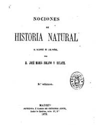 Biblioteca Hispanica : Notions of Natura... by Solano and Eulate, Jose Maria