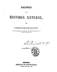 Biblioteca Hispanica : Notions of Natura... by Garcia De Los Santos, Benito