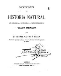 Biblioteca Hispanica : Notions of Natura... by Legua Castro and Vicente
