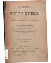 Biblioteca Hispanica : Notions of Natura... by Perez Minguez, Luis