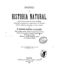 Biblioteca Hispanica : Notions of Natura... by Garcia Alvarez, Rafael