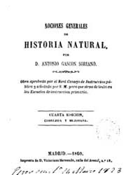 Biblioteca Hispanica : Outline Natural H... by Gascon Soriano, Antonio