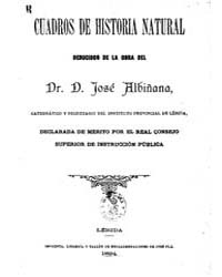 Biblioteca Hispanica : Paintings of Natu... by Albinana, Joseph