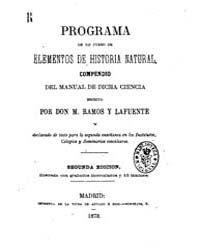 Biblioteca Hispanica : Programme Course ... by Ramos and Lafuente, M.