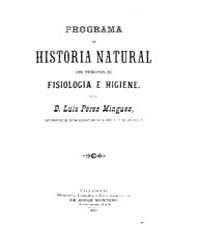 Biblioteca Hispanica : Programme of Natu... by Perez Minguez, Luis