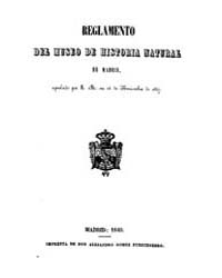Biblioteca Hispanica : Regulation of the... by Madrid