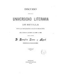 Biblioteca Hispanica : Speech Read on th... by Sanz and Agud, Serafin
