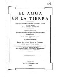 Biblioteca Hispanica : the Water on Eart... by Thos and Codina, Silvino