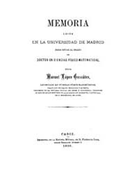 Biblioteca Hispanica : Memory Read at th... by López González, Manuel