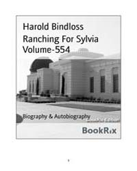Ranching for Sylvia Volume-554 by Harold Bindloss