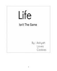 Life Isnt the Same (Characters) by Aaliyah