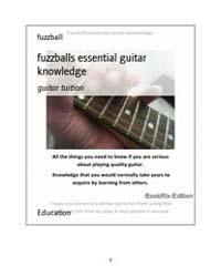 Fuzzballs Essential Guitar Knowledge by Fuzzball