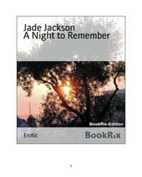 A Night to Remember by Jackson, Jade