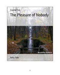 The Pleasure of Nobody by Fox, Crystal