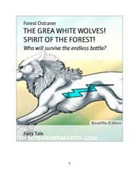 The Great White Wolves! Spirit of the Fo... by Ostraner, Forest