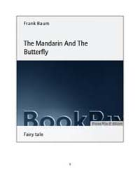 The Mandarin and the Butterfly by Baum, Frank