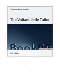The Valiant Little Tailor by Grimm, the Brothers