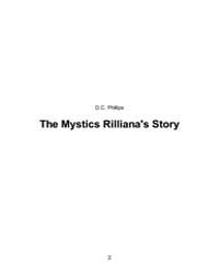 The Mystics Rillianas Story by Phillips, D. C.