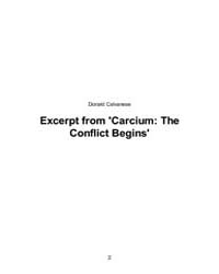 Excerpt from Carcium by Calvanese, Donald