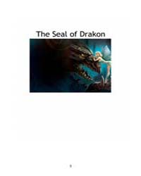 The Seal of Drakon by Anna, Lydia