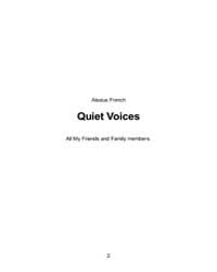 Quiet Voices by French, Alexius