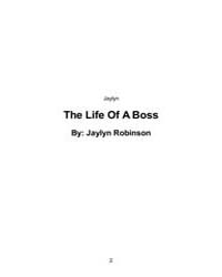 The Life of a Boss by Jaylyn